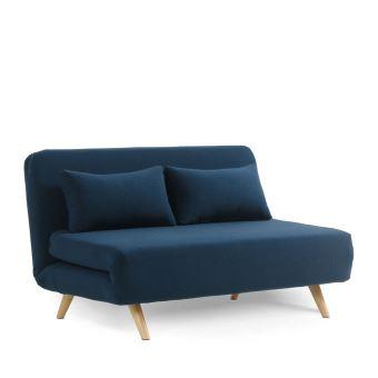 5 sur canap convertible modulable 2 places john couleur bleu marine achat prix fnac. Black Bedroom Furniture Sets. Home Design Ideas