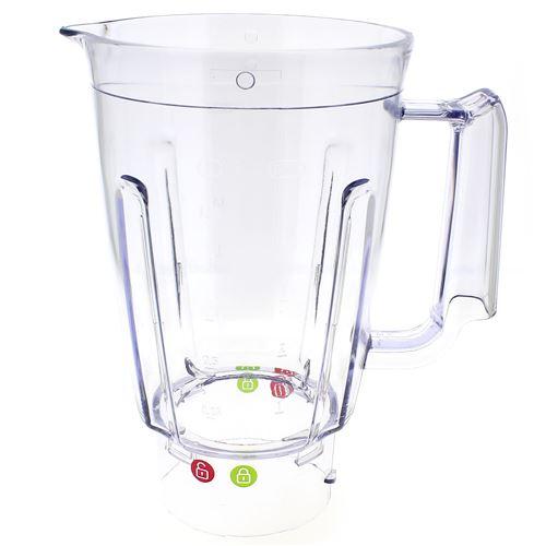 Bol mixer plastique pour Blender Moulinex, Robot Moulinex, Mixer Moulinex