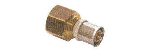 Raccord femelle fixe pour tube multicouches - Diamètre : 32 - 1