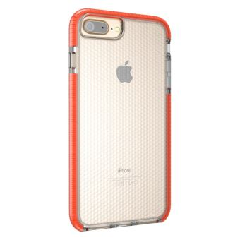 coque orange iphone 8 plus