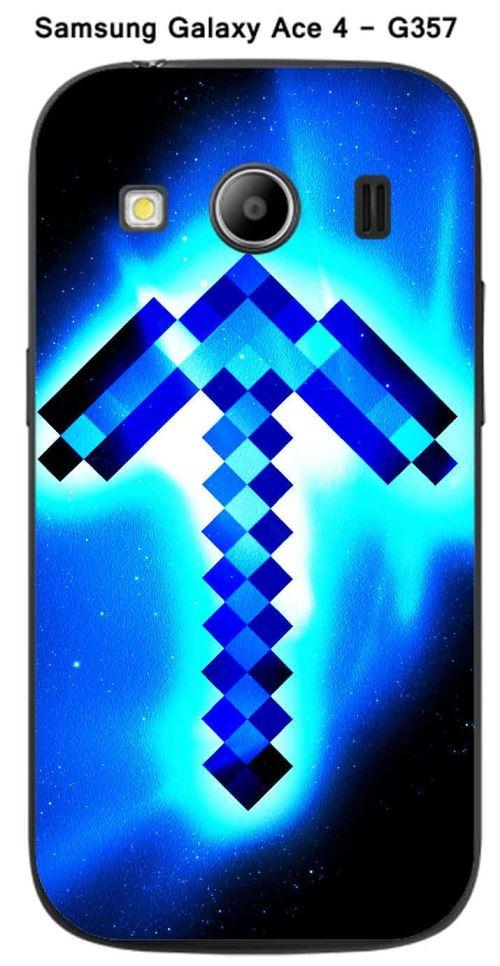 Coque Minecraft - 3 pour Samsung Galaxy Ace 4 - G357