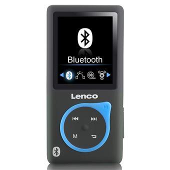 Lecteur MP3 MP4 Bluetooth 8GO Xemio 768 Lenco avec emplacement carte SD bleu