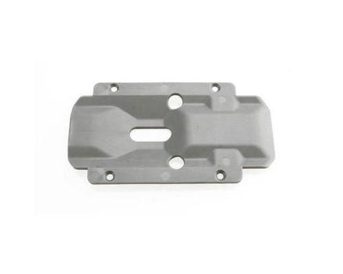 Plaque de protection de transmission nylon grise - traxxas