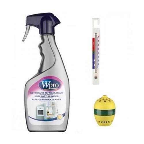 Kit nettoyant + thermomètre + absorbeur odeur Accessoires et entretien 484000008419 WPRO - 131800