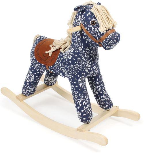 Bayer Chic 2000 406 02 Leni Cheval à bascule, animal à bascule pour les enfants à partir de 36 mois, jeu, bleu
