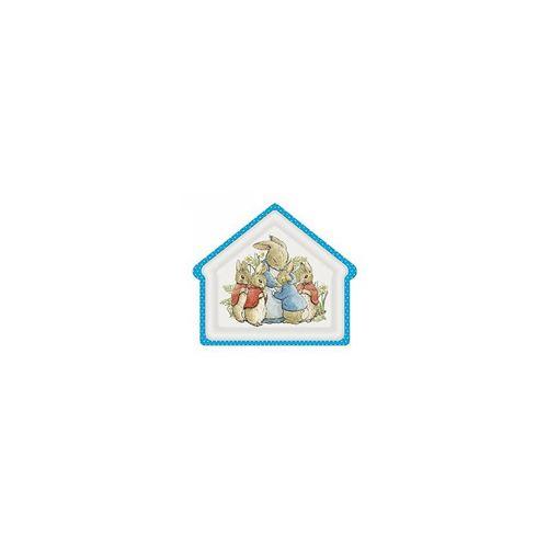 Assiette en forme de maison peter rabbit - petit jour paris