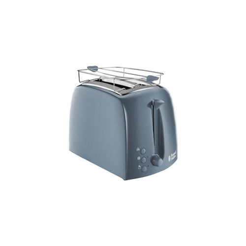 Russell Hobbs 21644-56 Toaster Grille-Pain Texture Fentes Larges - Gris