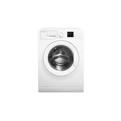 Hotpoint Ariston Natis N JU M10 924 W FR - Machine à laver - indépendant - largeur : 59.5 cm - profondeur : 60.5 cm - hauteur : 85 cm - chargement frontal - 62 litres - 9 kg - 1151 tours/min - blanc