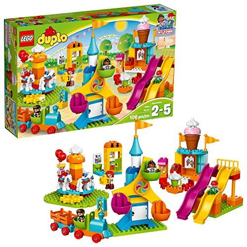 LEGO Duplo Town Big Fair 10840 Kit de construction, Multi