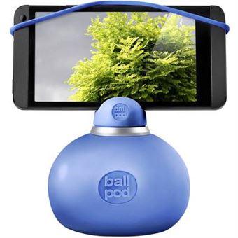 Ballpod tamisant adaptateur pour smartphone bleu