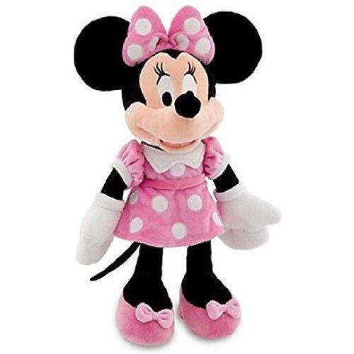 Peluche Minnie Mouse Disney Mickey Mouse Clubhouse - Robe rose - 19 H (2012)