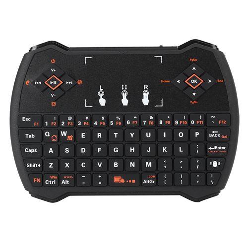 Mini clavier sans fil i9 intelligent à télécommande portable avec pavé tactile
