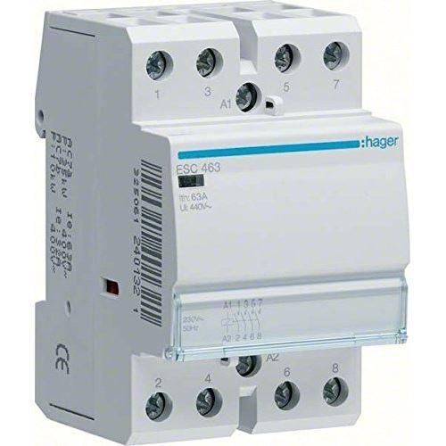 Hager esc464 puissance relais