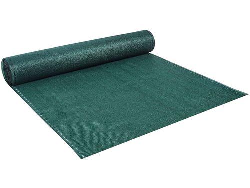 brise vue synthétique verdo - 2 x 10 m - 90g/m² - vert