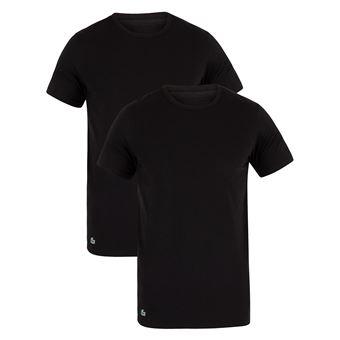 4d9d856a33 Lacoste Homme Lot de 2 T-shirts, Noir - Hauts, T-shirts et débardeurs de  sport - Achat & prix | fnac