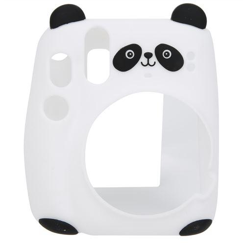 Étui pour appareil photo en silicone pour Instax Mini 11 - Panda