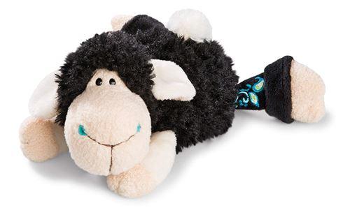 NICI 41317 Jolly Mäh Yoga Doudou Kasi de Mouton allongé, 20 cm
