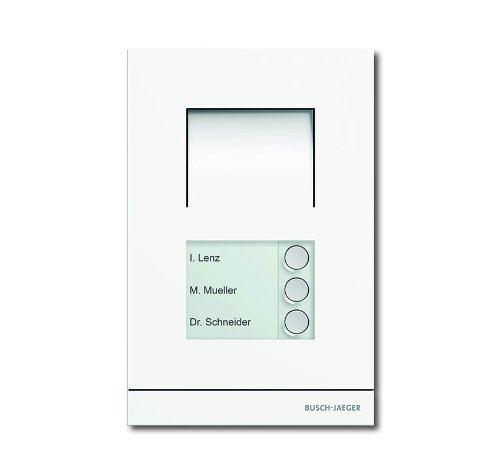 Busch-Jäger 83101/3–664 Interphone extérieur audio 3 F