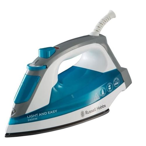 Russell Hobbs 23590-56 Fer A Repasser Vapeur Puissant 2400w Light And Easy Anti Adhesif Defroissage Vertical
