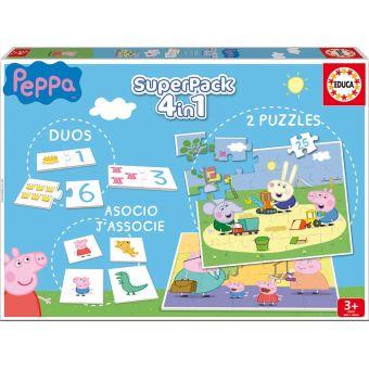 Puzzle Educa SuperPack Peppa Pig 2x25 Piezas