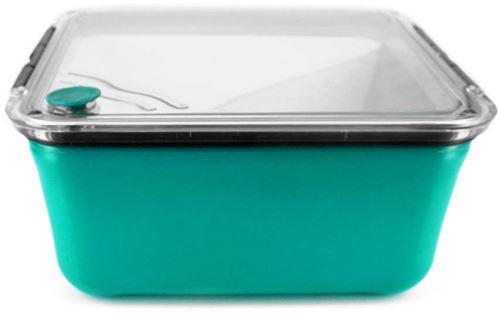 Take Away - Grande lunch box avec compartiment amovible vert