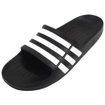 Noir Duramo Slide K 76460 Adidas Taille 35 Mules Claquettes XOqCSS