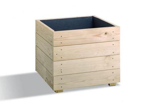Jardipolys - Bac à fleurs en bois modulable et personnalisable 44L - ESSENCIA 40