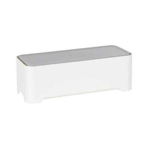 allibert boite de rangement rectangulaire pour câbles et fils 37x15x13 cm e-box