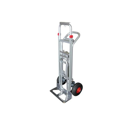 Diable-chariot aluminium - 3 en 1 - 250-350 kg