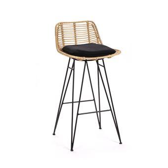 bar de Capurgana en rotin design 67cm Couleur Chaise Naturel Yby76fgv