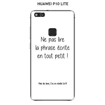 huawei p10 lite coque citation