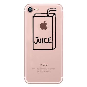 iphone 8 coque silicone fun