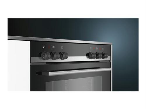 Siemens iQ100 HE510ABR2 - Four - intégrable - niche - largeur : 56 cm - profondeur : 55 cm - hauteur : 60 cm - classe A - acier inoxydable
