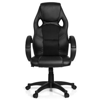 tissu PRO cuir simili Chaise maille de bureau Gaming à ZONE Chaise noir GAMING n0PkwOX8
