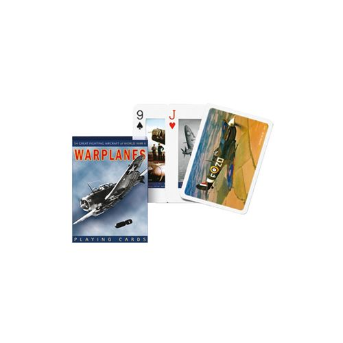 PIATNIK Jeu de 55 cartes WARPLANES Multicolore