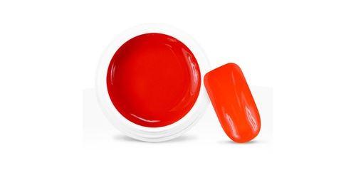 Gel uv / led couleur néon orange foncé - 5 ml