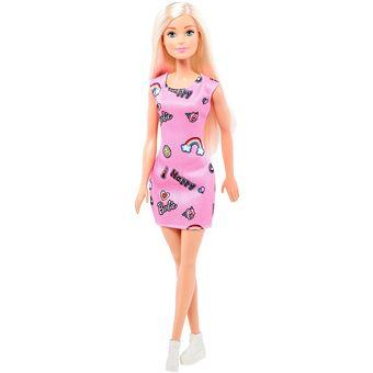 Robe Rose Et Chaussures Barbie Chic Avec Pour EnfantFjf13 Blonde Poupée BlanchesJouet X0PZN8wnOk