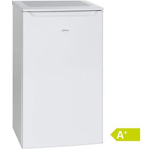 Bomann KS 2261 Blanc Réfrigérateur/A +/85,3 cm Hauteur/109 kWh/an/74 L refroidissement partie/10 L Partie Congélateur/Réfrigérateur avec compartiment à glace/Blanc