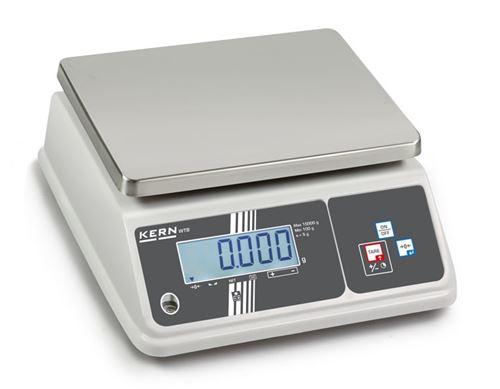 Kern - Balance de table avec protection 2g à 6 Kg charge min. 40g - WTB6K-3NM
