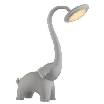 Poser Cm 39x16x33 Led Plastique En Gris Lampe A WHY9ED2eI