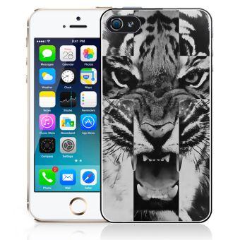 Coque pour iPhone 4 4S tigre swag