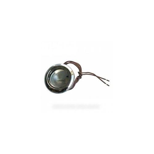 Lampe halogene 20w ø 55 m/m noire pour hotte airlux