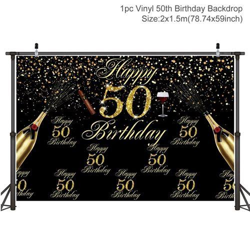 200x150 cm 30/40/50 anniversaire photo toile de fond Sequin photographie fond adulte A50