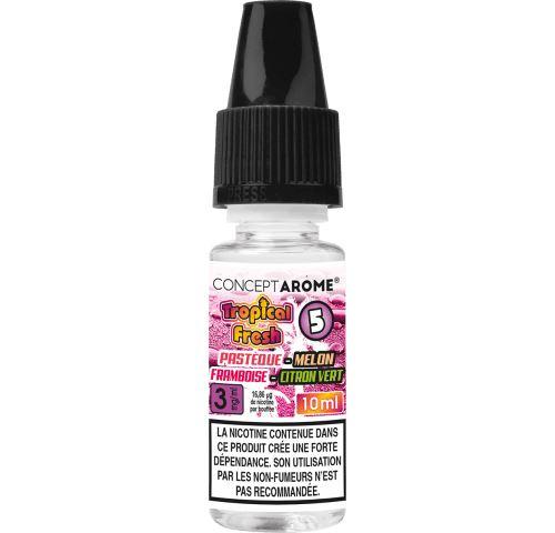 Conceptarôme - E-liquide Tropical Fresh N°5 – 3 mg.