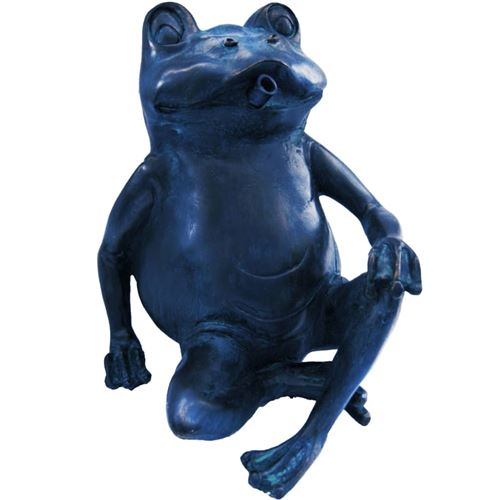 Figurine de bassin Gargouille Grenouille I en polyrésine