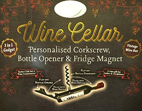 Ouvre-bouteilles de cave à vin aimants - Jackie