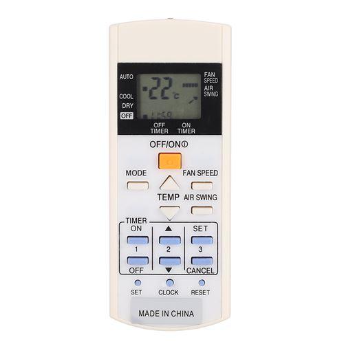Télécommande de climatiseur ABS pour A75C3297