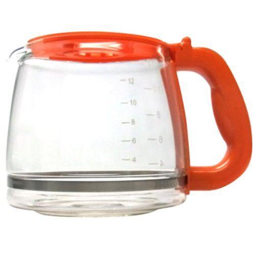 Russell hobbs - 168370 - Verseuse en verre orange pour cafetière deco 14683-56