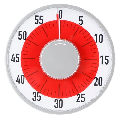 Minuterie d'Alarme Magnétique Ronde pour Synchronisation de Cuisson