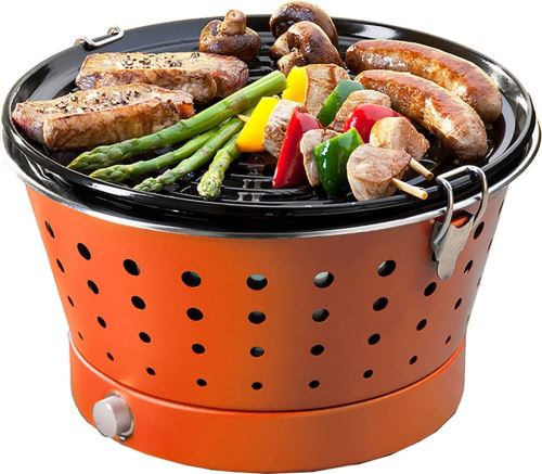 Food&Fun Grillerette Classic Barbecue Portable Orange